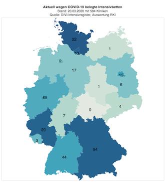 Intensivbetten Deutschland Corona