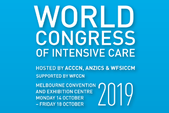 Logo der Australian and New Zealand Intensive Care Society